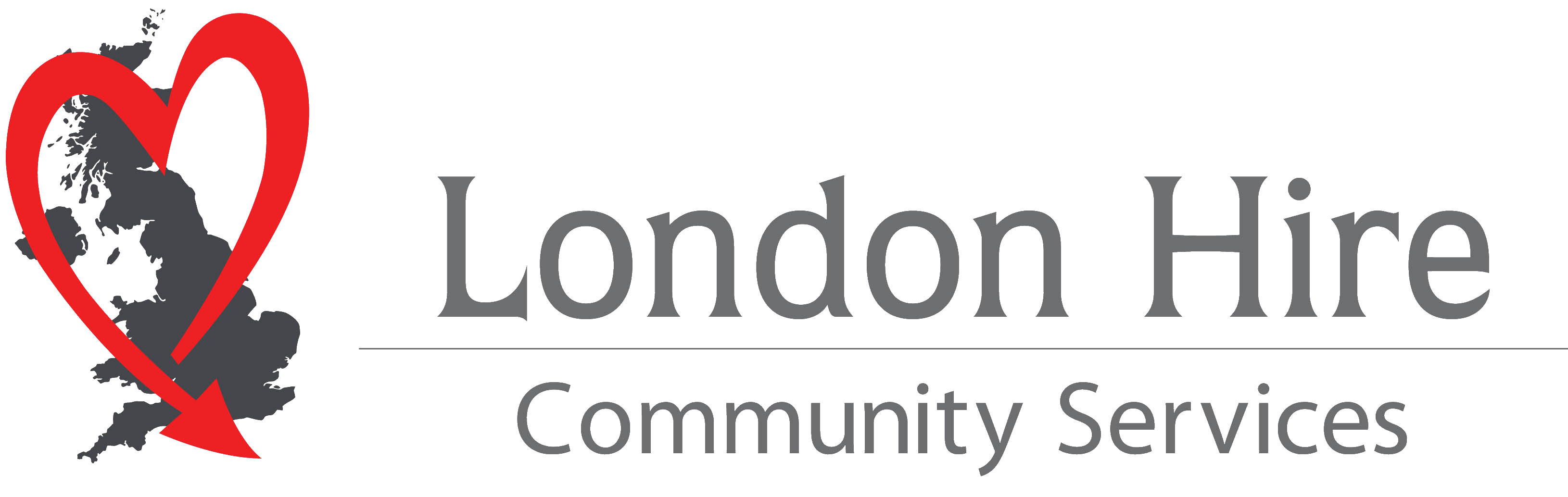 London Hire Community Service Logo