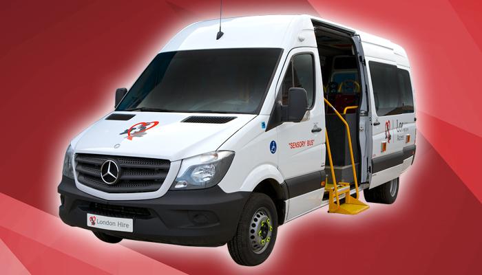 14 16 Seater Van Conversion Sensory Bus